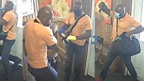 Man seen on camera beating elderly man in south Houston with crowbar, robbing him at gunpoint