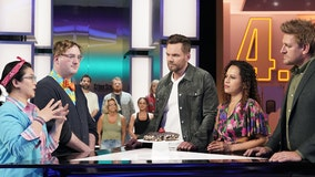 'It will leave you guessing': Joel McHale, Yolanda Gampp discuss 'Crime Scene Kitchen' which premieres May 26