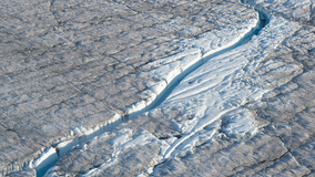 Study suggests Greenland ice sheet is 'close to a tipping point' due to global warming