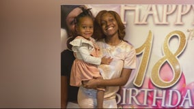 Balloon release for young mom victim of shooting at Detroit gas station