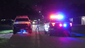 Police looking for shooter after man's body found inside crashed car in North Houston