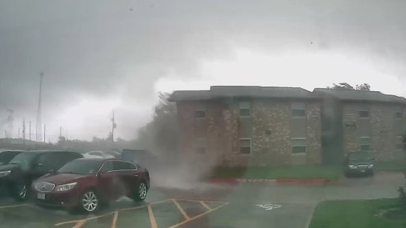 Brief tornado surprises residents Thursday at Crosby apartment complex