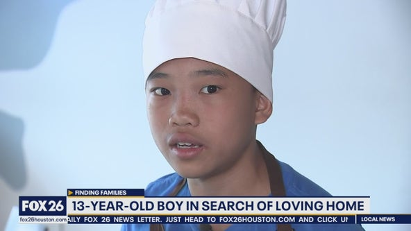 13-year-old aspiring chef looking for family to adopt him