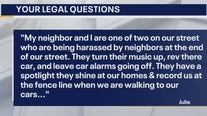 Your Legal Questions: Manufacturer defect; harassed by neighbors