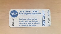 Boston woman uses 1983 aquarium ticket good 'at anytime in the future'