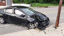 Cicada blamed for Ohio car crash after flying into driver's face