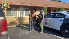 Homeless veteran reunites with his missing dog in California