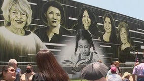 Mural featuring local Latina icons unveiled in Houston's East End