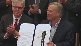 Gov. Abbott signs 7 gun bills including permitless carry