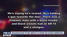 Man arrested possibly linked to home invasion