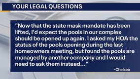 Your Legal Questions: Contractor, traffic fine, neighborhood pool