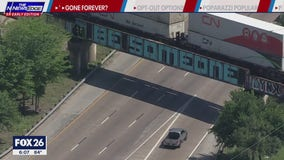 'Be Someone' graffiti gone for good?