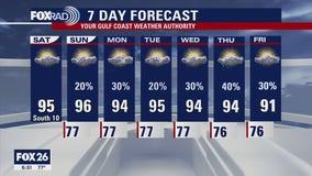 Houston-area weather forecast: June 12th