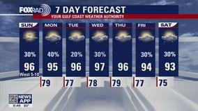 Houston-area weather forecast: June 13th