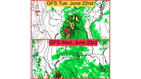 Gulf weather outlook for June