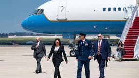 Harris' plane returns after 'technical issue' ahead of visit to Latin America