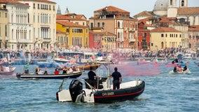 Cruises from Venice restart, bringing environmental protests