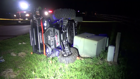 Teen killed after UTV crashes, rolls over in Montgomery