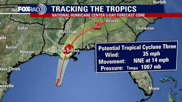 Potential Tropical Cyclone 3: Minimal impacts for Southeast Texas