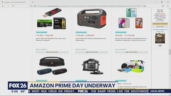 Amazon Prime Day underway