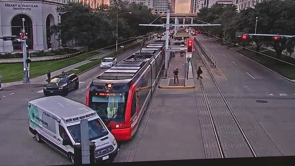 Lawsuit claims woman's death in private ambulance due to driver crashing into MetroRail Train