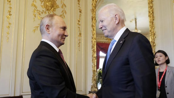 Biden-Putin summit: Leaders meet face-to-face for hours of talks