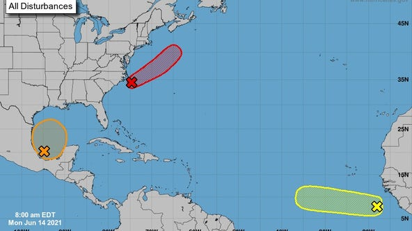 Disturbance in the Gulf has 60% formation chance