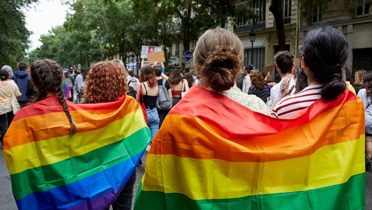 Annual Pride March Parade In Paris, France
