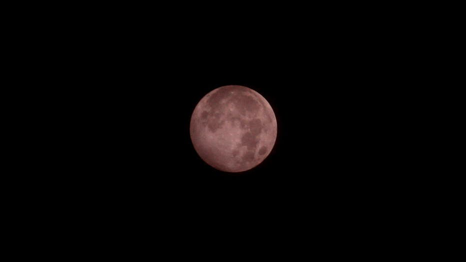 Full Moon Eclipse In Indonesia