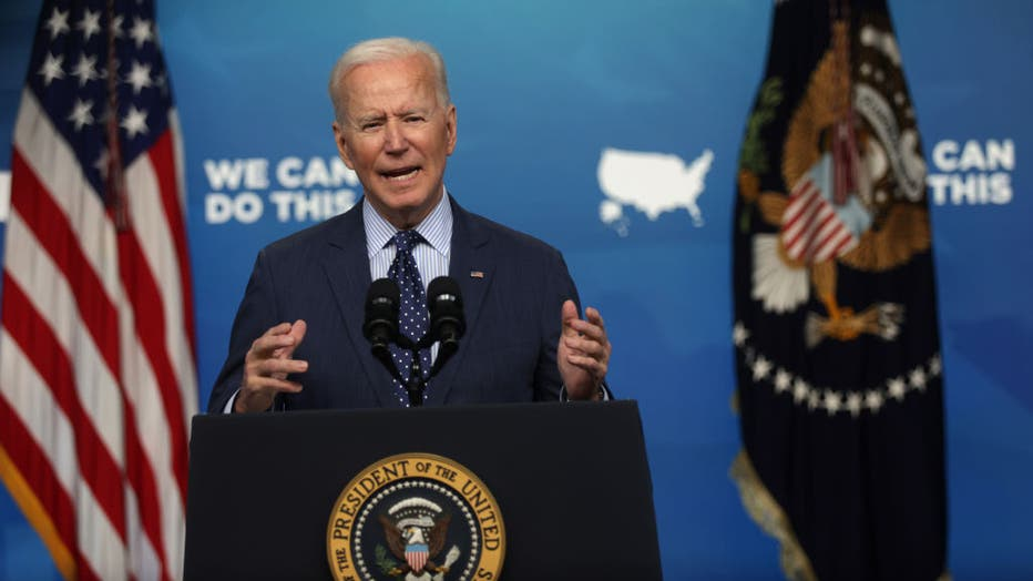 President Biden Delivers Remarks On COVID-19 Response And Vaccination Program