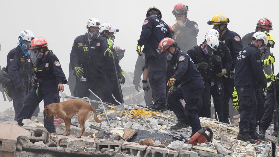 Dozens Presumed Missing After Residential Building In Miami Area Partially Collapses