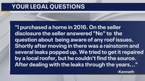 Your Legal Questions: Home seller lied, apartment lease & dentist took advantage