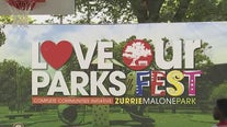 Houston Mayor Sylvester Turner holds an inaugural 'Love Our Parks' fest in Third Ward
