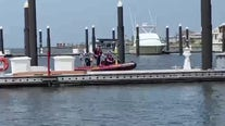 Police, witnesses find man's body hours after he fell overboard from a boat in Galveston