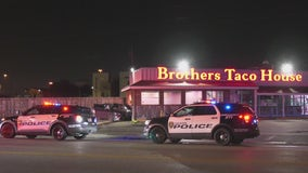 Car crashes into east Houston restaurant during police pursuit