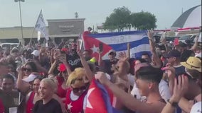 Cubans take to the streets to protest their government