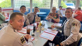 North Carolina Highway Patrol officers treat stranded woman to lunch