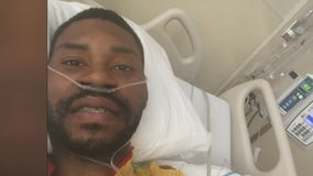 30-year-old Houston man says he may never walk again after being shot in the back during drive-by