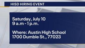 Houston ISD teacher hiring event