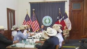 Gov. Greg Abbott holds briefing on border security in Texas