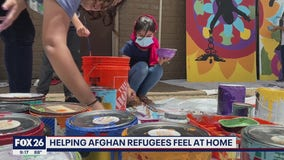 Local group helps refugee children feel at home