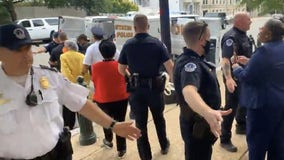 'I will never stop fighting,' Texas Rep. Sheila Jackson Lee arrested during protest in Washington D.C.
