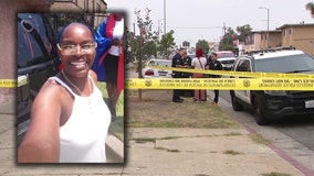 Woman found beaten to death, bound, gagged, rolled in blanket inside her home in South LA