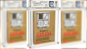 Legend of Zelda game from 1987 sells for $870,000