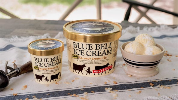 Blue Bell launches new limited-time flavor for National Ice Cream Month