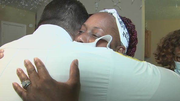 Fire Chief visits family that was wrongly told by 2 paramedics a 14-year-old special needs boy was dead