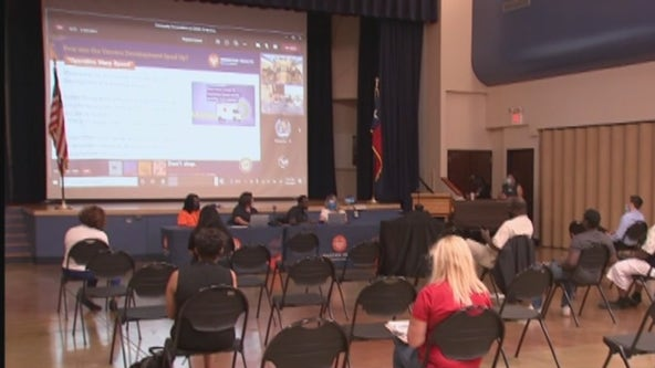 City hosts town hall meeting in Acres Homes for vaccine hesitant, less than 5 people show up