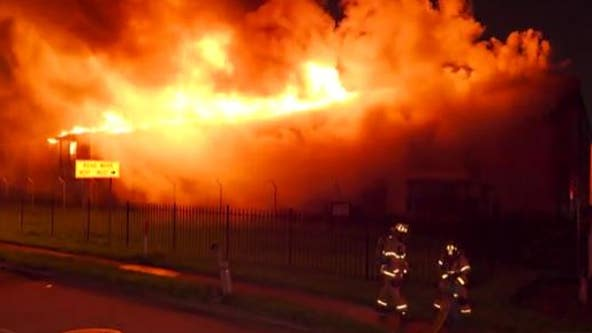 PHOTOS: Apartment in Greenspoint area heavily engulfed in flames