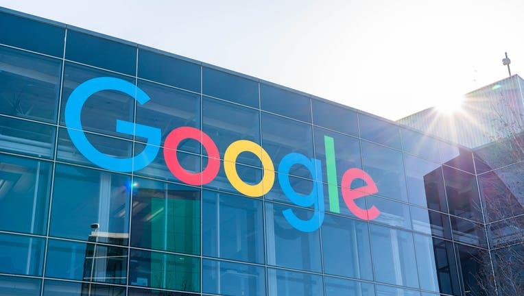 American multinational technology company Google logo seen