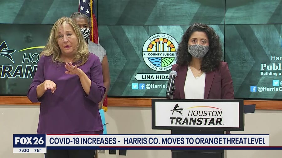 Harris Co. moves to orange threat level as Delta variant cases rise- What's Your Point?